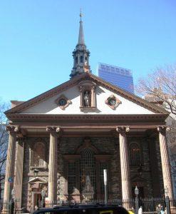 St Paul's Chapel New York