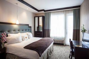 Une chambre de l'hôtel Condor, un 3*.