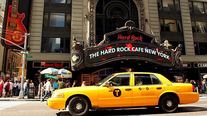 hard rock restaurant new york