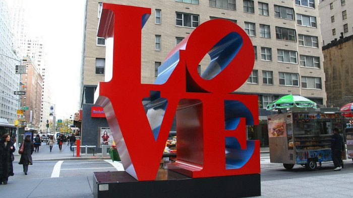 love robert indiana new york