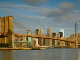 New York et le pont de Brooklyn