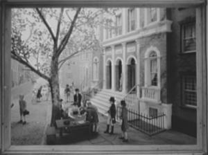 Gravure représentant la signature de l'accord de Buttonwood. (Photo Library of Congress)