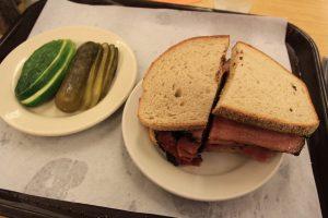 sandwichs Katz New York