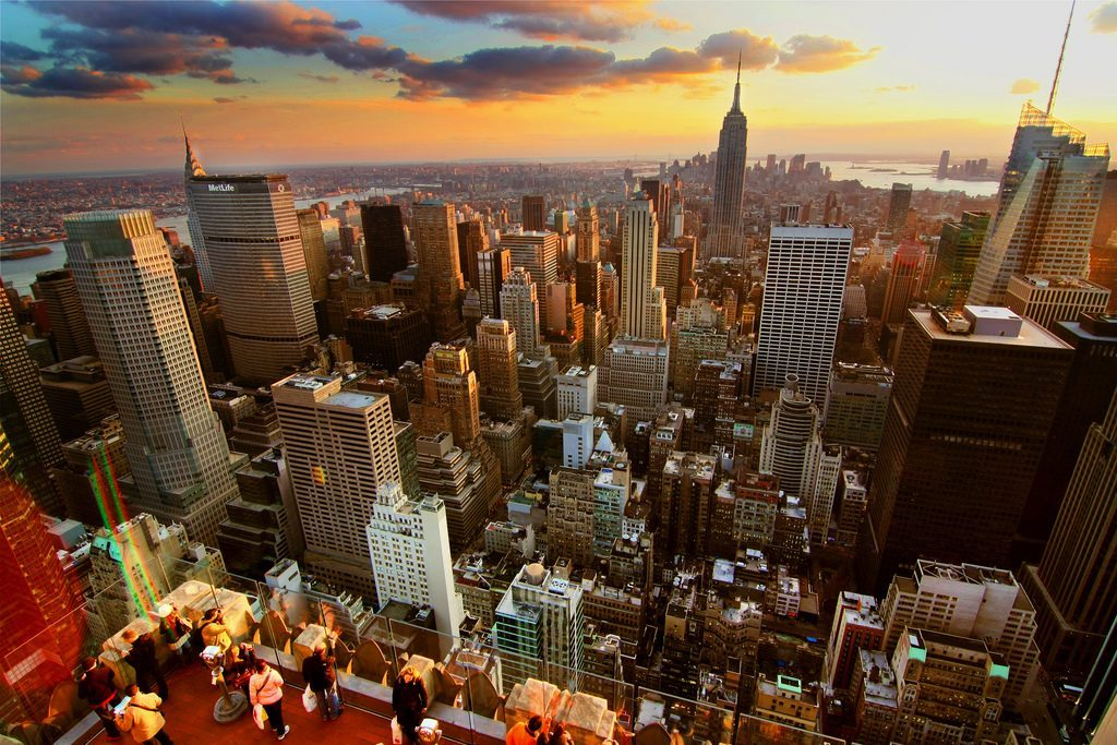 New York depuis le Top of the Rock