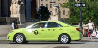 taxi vert à New York