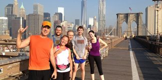 jogging new york