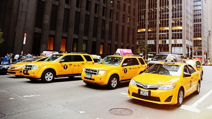 taxis jaunes new york