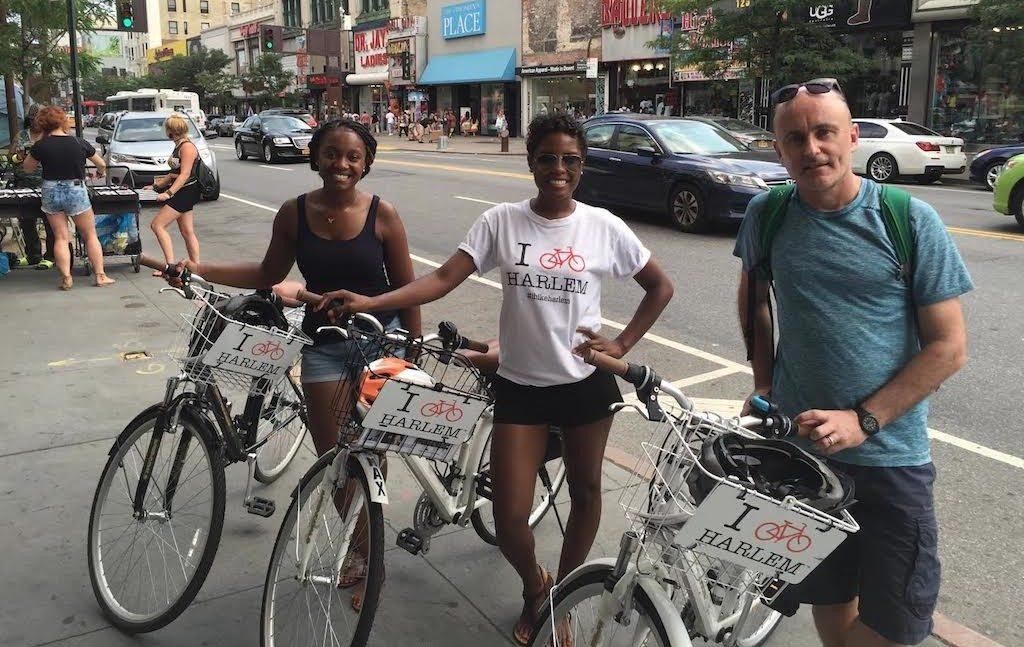 Harlem en vélo