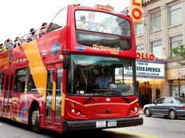 Un bus Hop-on Hop-off à New York.