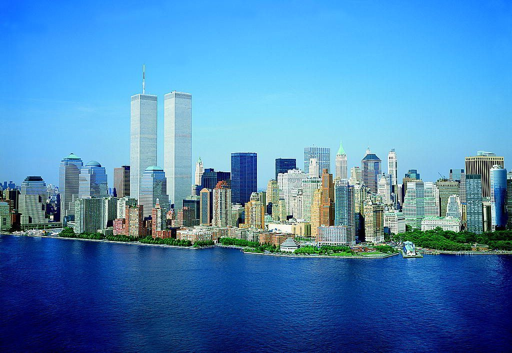 skyline Manhattan avant 11 septembre 2001
