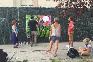 graffiti à Brooklyn