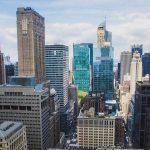 Vue sur les buildings de New York.