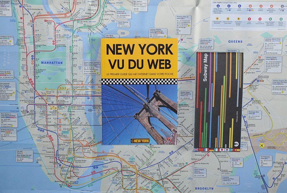 Le guide New York vu du Web et le plan officiel du métro
