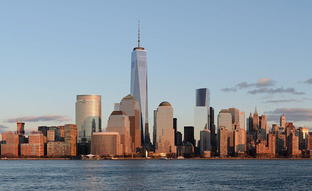 La One World Trade Center domine le Financial District de New York