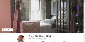 annonce pour un logement AirBnb à New York