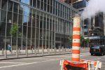 Pourquoi les rues de New York fument-elles ?