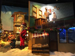 vitrines de Noël