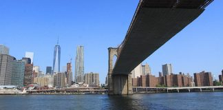 Manhattan et le pont de Brooklyn