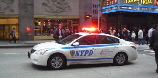 voiture de police à New York