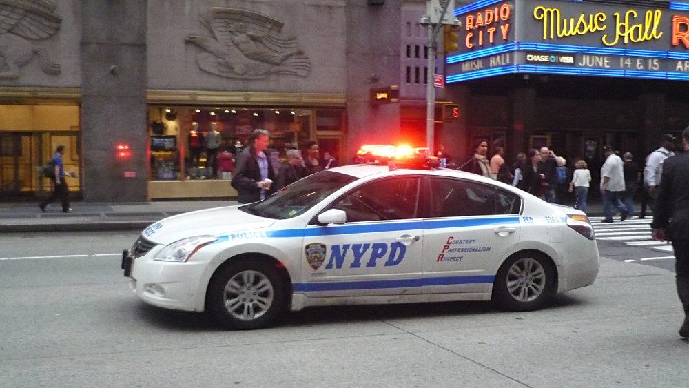 voiture de police à New York