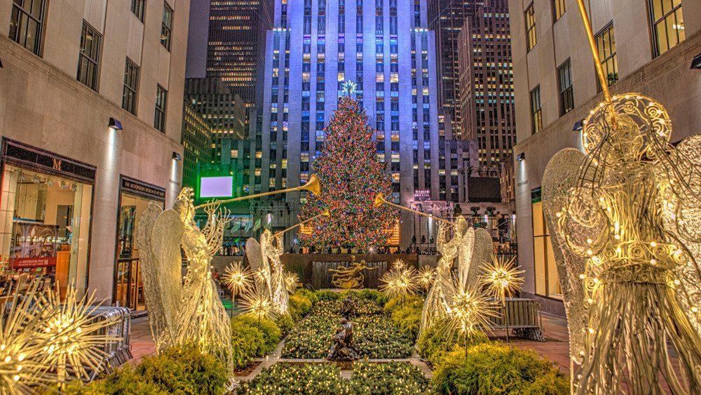 sapin Noël Rockefeller Center