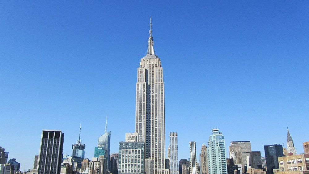 L'Empire State building domine New York