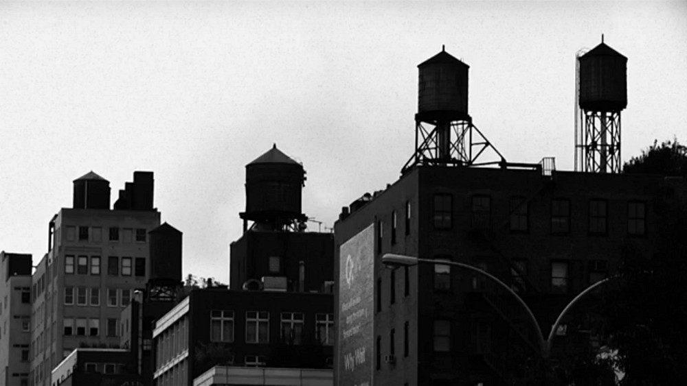 citernes sur les toits de New York