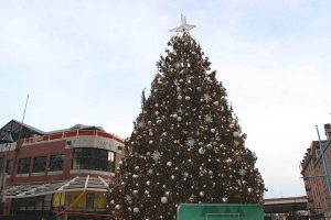 Le sapin de Noël de South Street Seaport