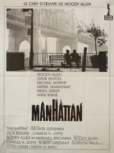 manhattan affiche Woody Allen