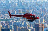 vol en hélicoptère au dessus de new york