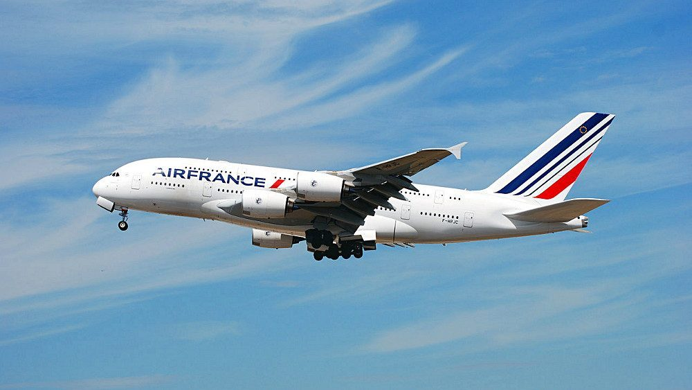 air france airbus 380 new york