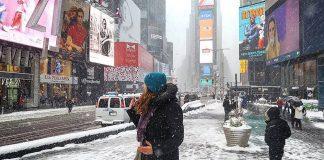 new york tempête neige