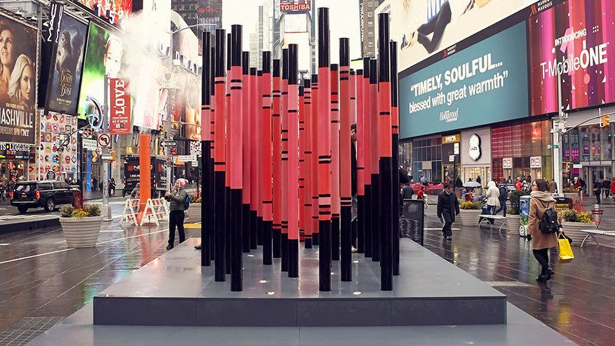 saint valentin times square new york