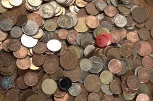 pièces dollars