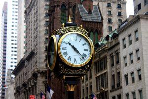 horloge Trump tower new york