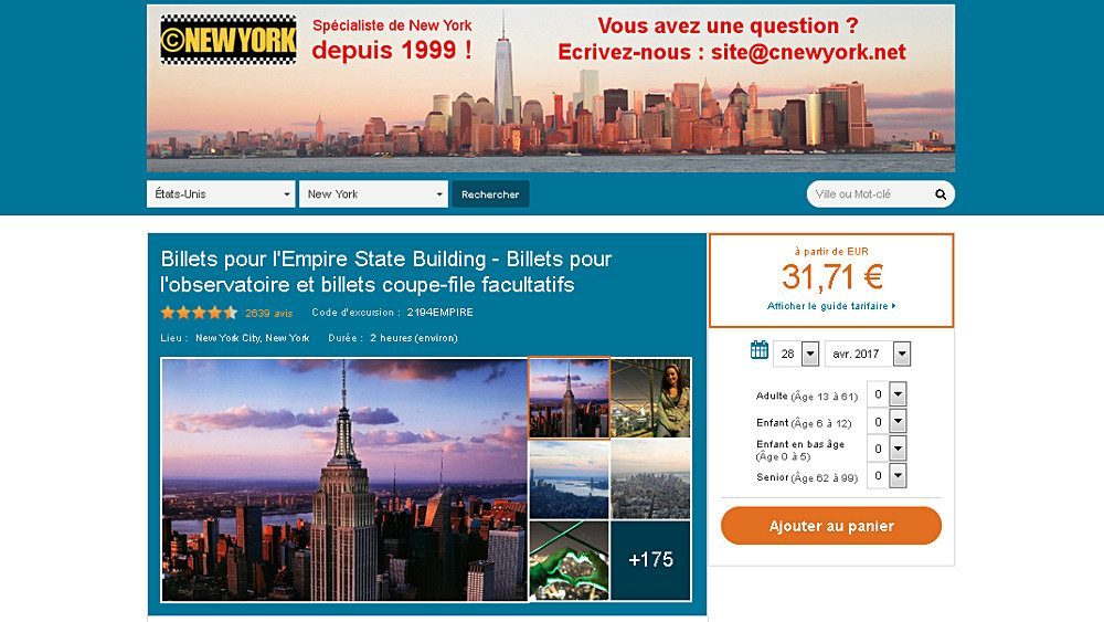 excursions visites new york