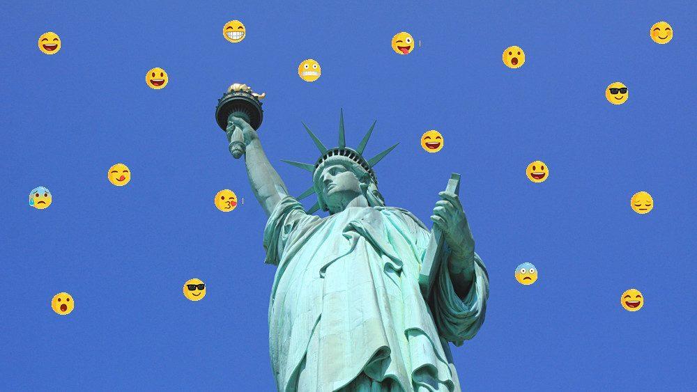 Votre voyage à New York raconté en 20 Emoticons