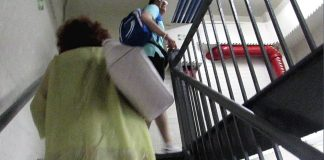 empire state building escalier