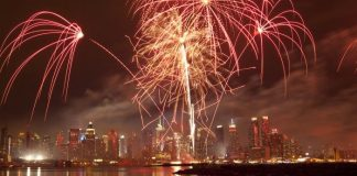 feu artifices new york