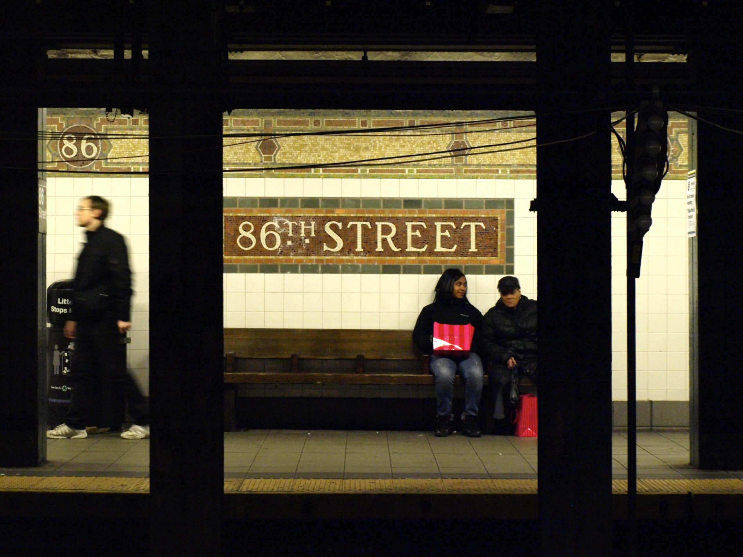 station métro New York