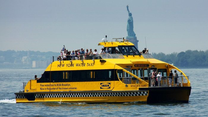 new york water taxi usa