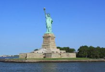 statue liberte new york usa