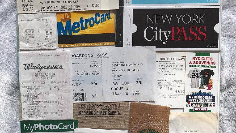 Composez le tableau souvenir de votre voyage à New York