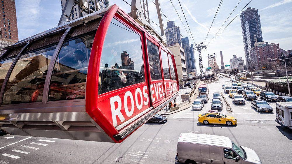 transport insolite new york roosevelt island