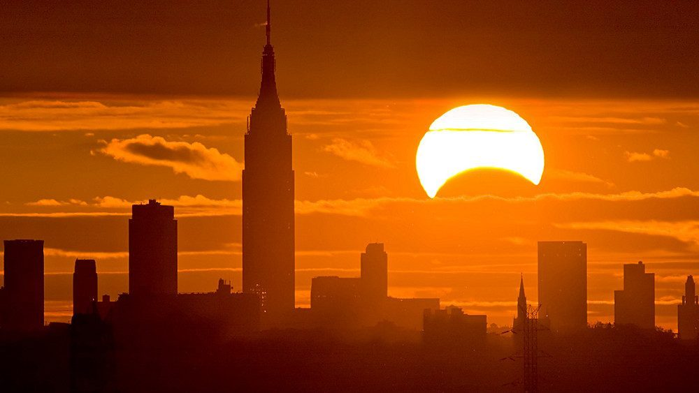 éclipse new york