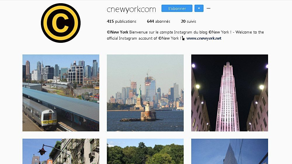 instagram new york