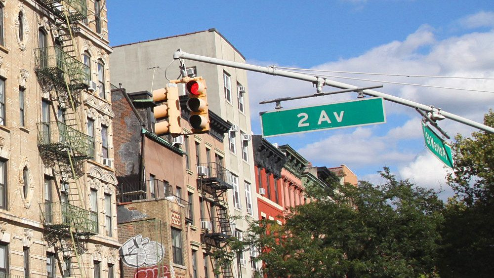 numeros avenues rues new york