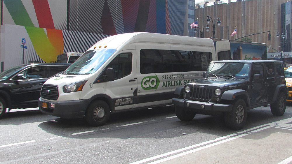 transfert aeroport hotel new york