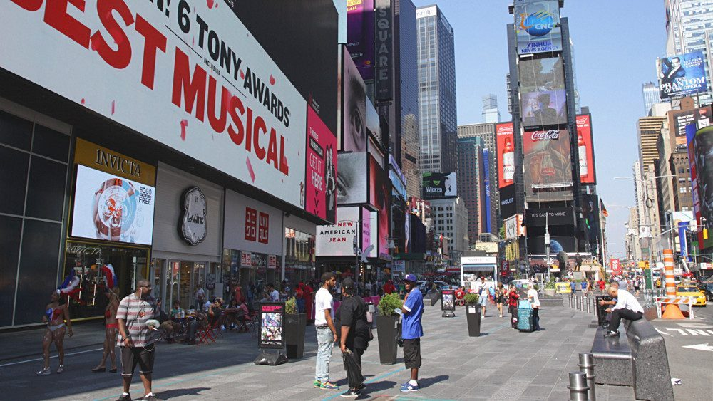broadway times square new york