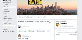 groupe facebook destination new york